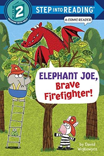 Elephant Joe, Brave Firefighter! (Step into Reading Comic -
