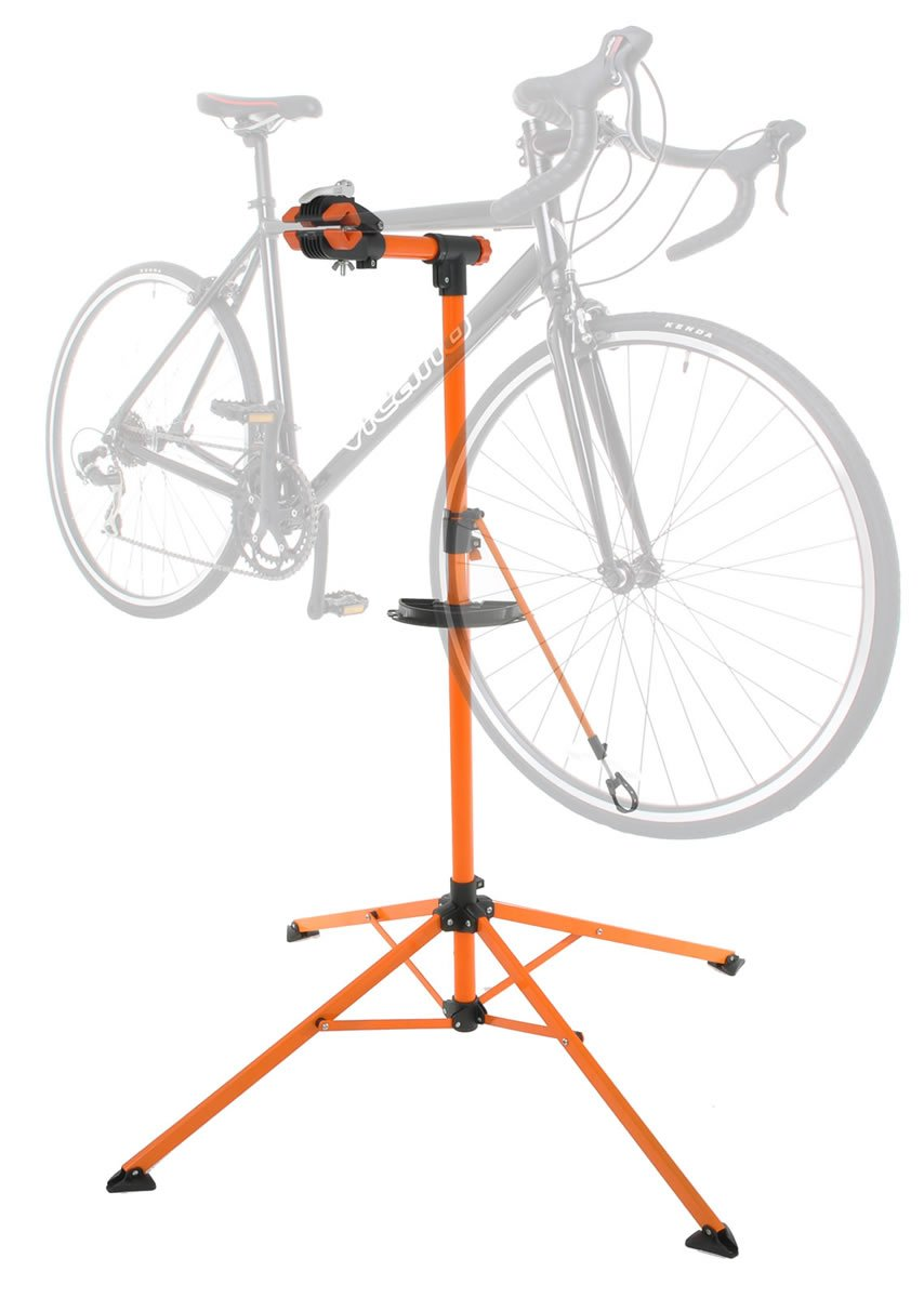 Conquer Portable Home Bike Repair Stand Adjustable Height Bicycle Stand by Conquer