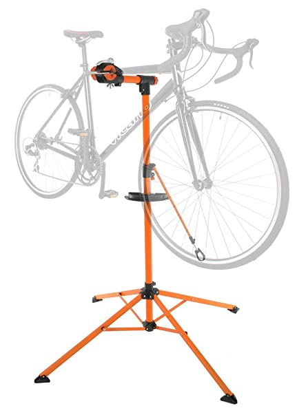 Amazon.com : Portable Home Bike Repair Stand Adjustable Height ...