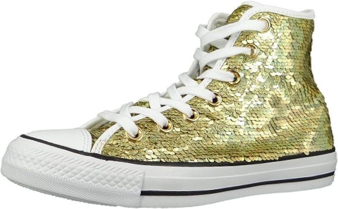 Converse 553439C Chucks CT AS Oro Bianco Nero Oro
