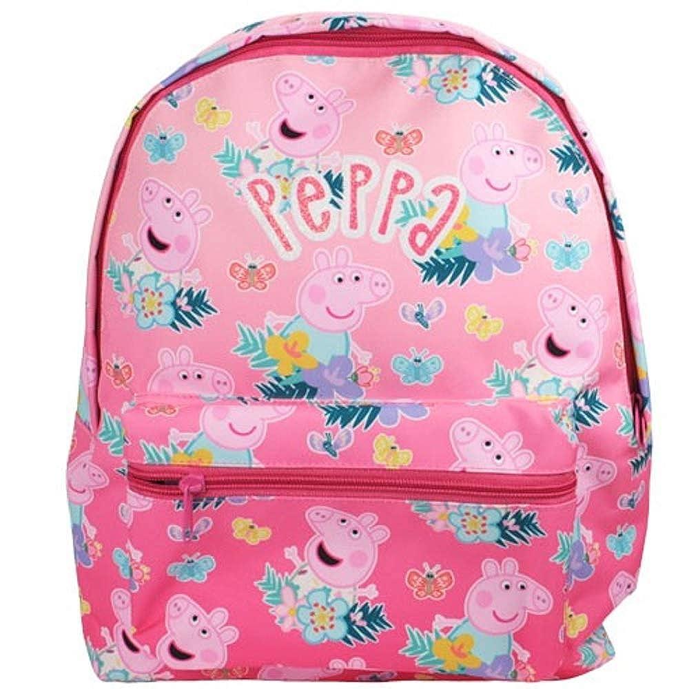 Boys Girls Kids Peppa Pig George Bags School Rucksack Reins Kit Back Pack Wallet