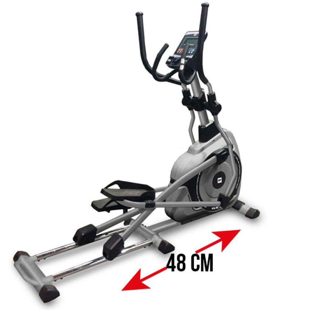 BH bici elíptica NC19. Fitness apps. Entrenamiento motivacional. Especial para usuarios altos y/o pesados: Amazon.es: Deportes y aire libre