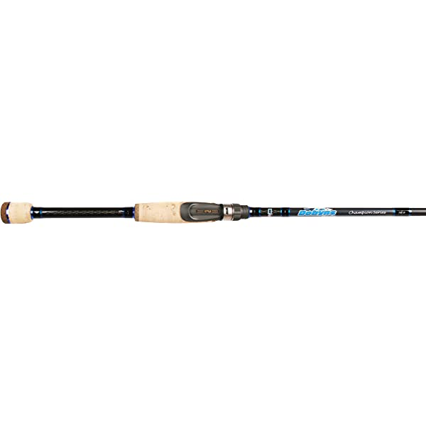 """Dobyns Sierra Trout and Panfish Series Spinning Rod 2 Piece 7/'4"""" LightSTP ..."""