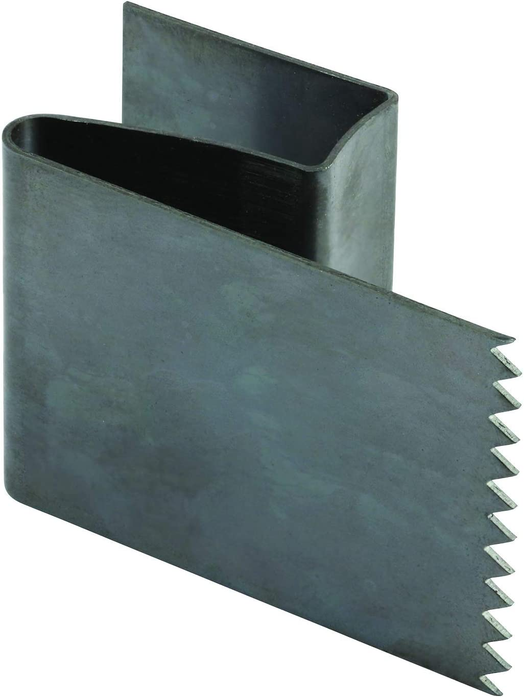 PRIME-LINE Hurricane Board-Up Clips, Fits 1/2 in. Thick Plywood, Stamped Steel, Unfinished, for Brick, Wood & Stucco, Pack of 50 (MP5099)
