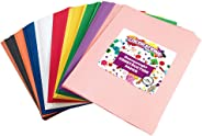 Construction Paper Pack, 10 Assorted Colors, 9