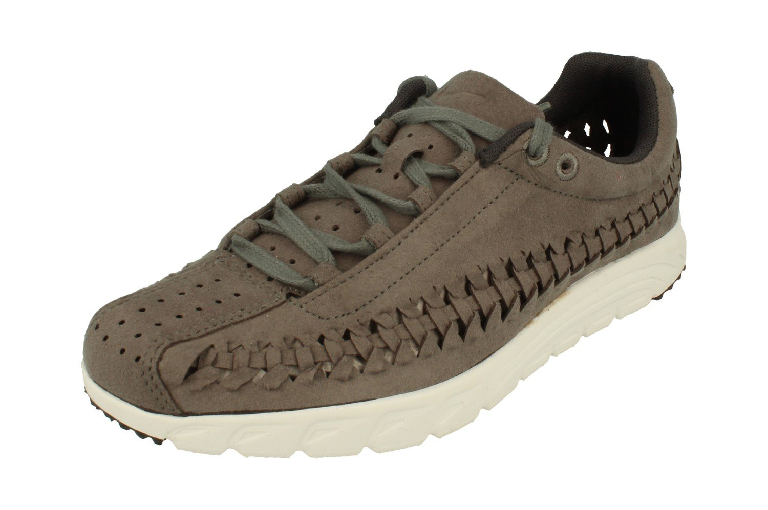 NIKE Men's Mayfly Woven Casual Shoe B005A5DCJQ 6.5 D(M) US|Tumbled Grey Anthracite 002