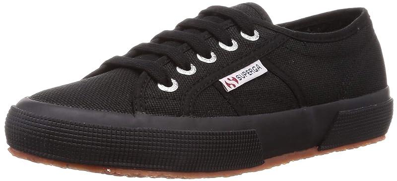 Superga 2750 Cotu Classic Sneakers Low-Top Unisex Damen Herren Schwarz