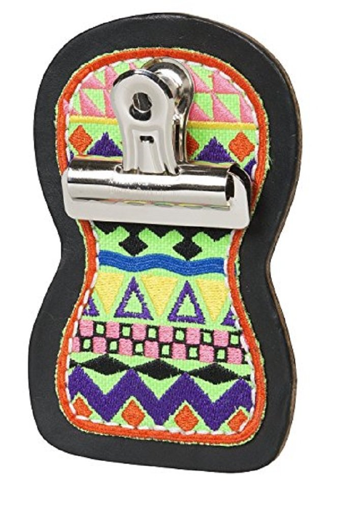 Weaver Leather Cow Calf Steer Holstein Heifer AZTEC LIME PATTERNED Print Leather Show NUMBER Holder