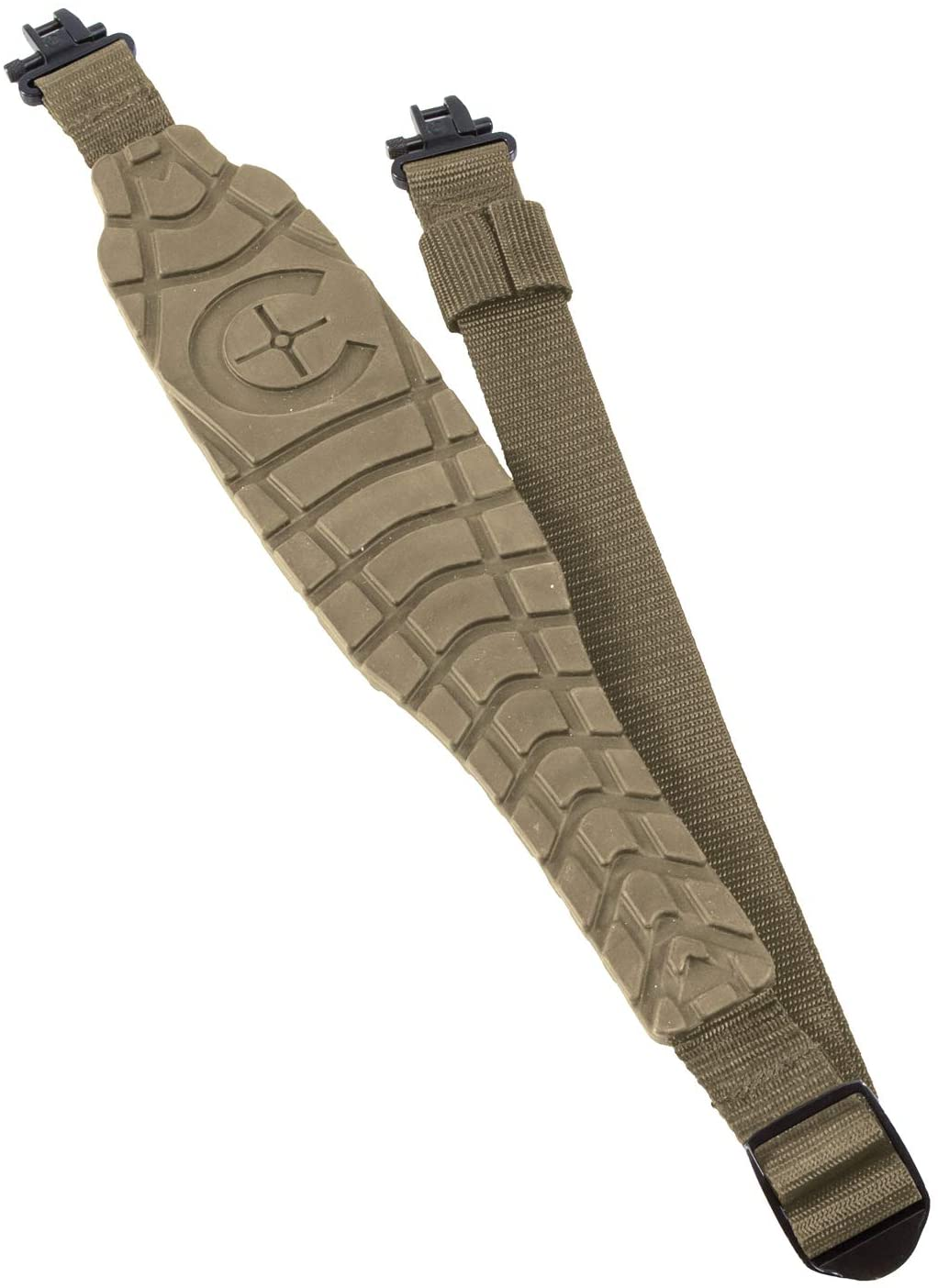 Caldwell Max Grip Sling with Heavy Duty, Moisture Free Construction and Quick Detach Clasps for Outdoor, Range, Shooting and Hunting