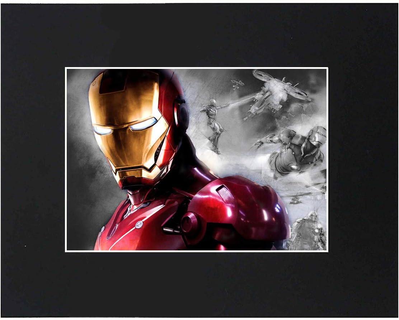 Marvel Comics Sign Logo Display Wall Art Artwork Stan Lee The Avengers Iron Man