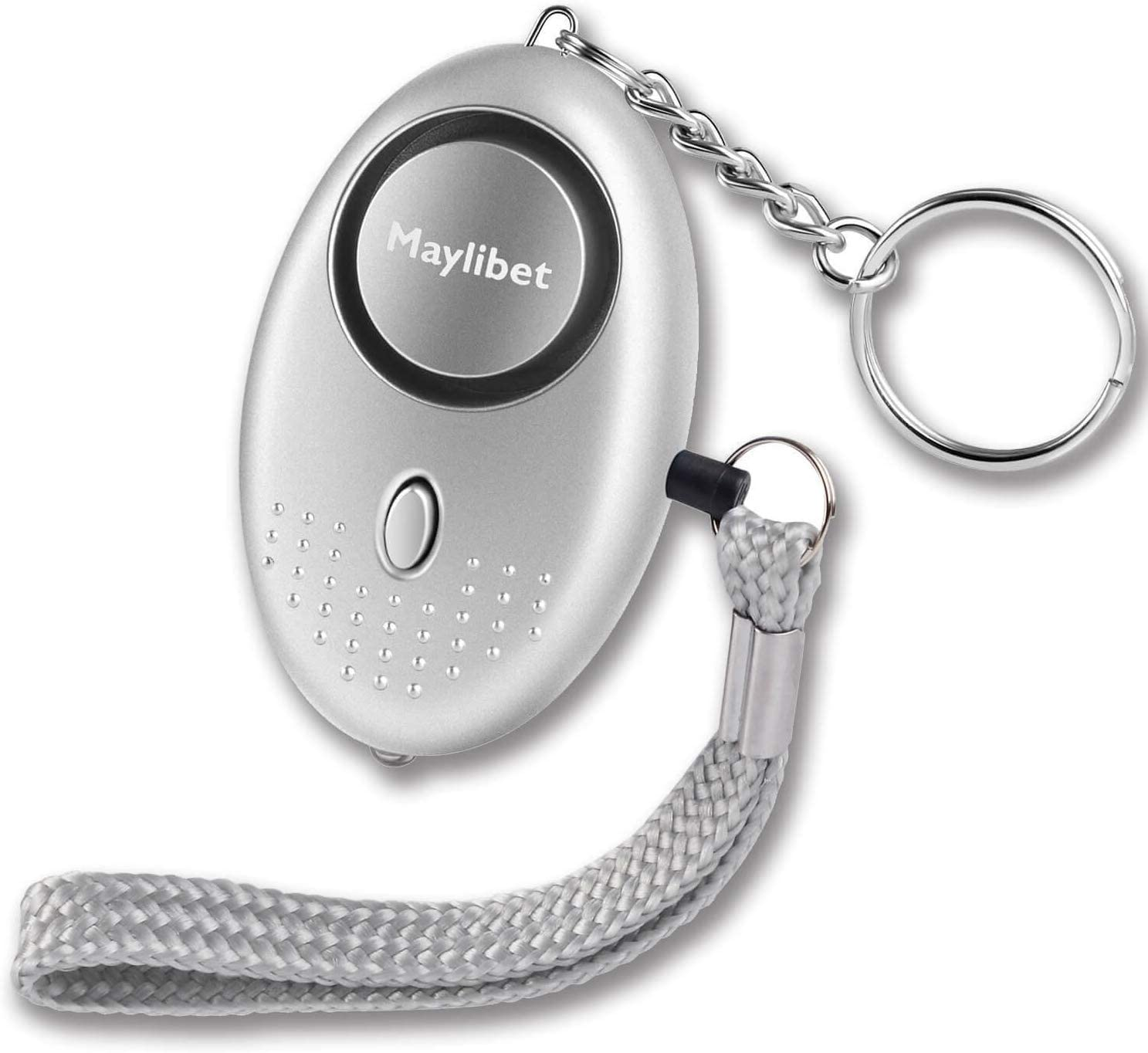 SafeSound Personal Alarm 140dB with Flashlight Safe and Sound Personal Alarms for Women Elderly Kids Self Defense Emergency Siren Song Alarm Keychain 61FlV5qEQpL