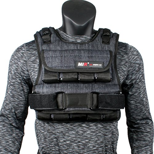 Mir - AIR Flow Adjustable Weighted Vest (Short Style) (50lbs)
