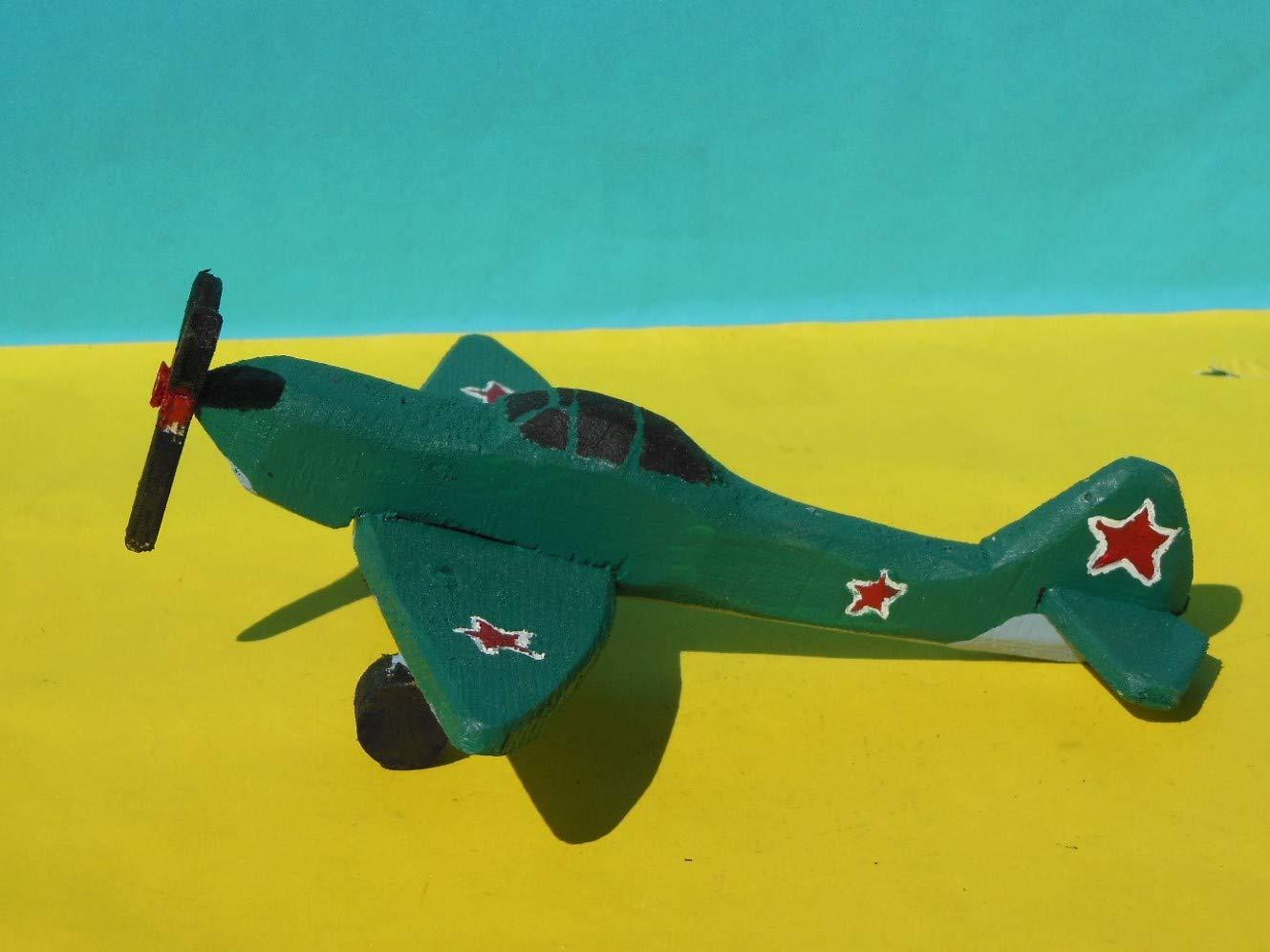 Wooden Toy Yakolev Yak1 Airplane