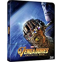Avengers Infinity War: Steelbook, 3D and 2D Blu-ray combo