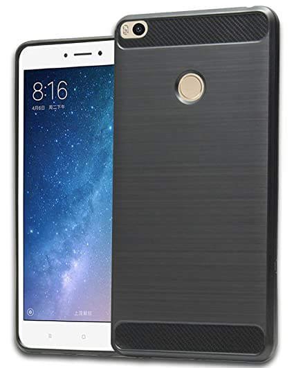 buy online fb2c3 7841d ONLINE INDIA XIAOMI MI MAX 2 Hybrid Back Cover Case, Rugged Armor Shock  Proof Soft TPU Case for MI MAX 2 - BLACK