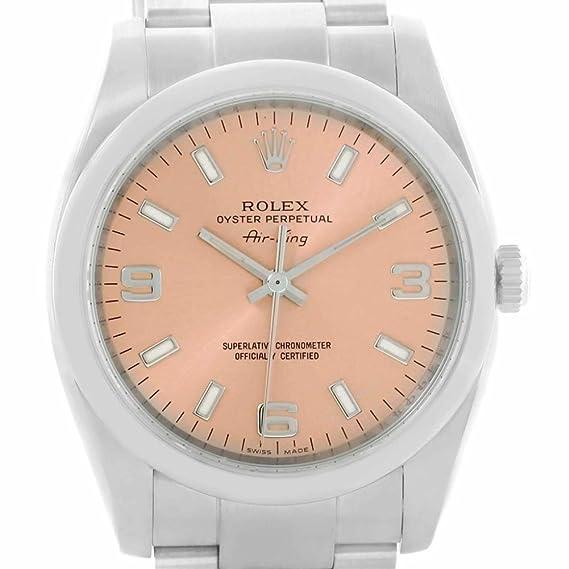 Rolex Oyster Perpetual automatic-self-wind Mens Reloj 114200 (Certificado) de segunda mano: Rolex: Amazon.es: Relojes