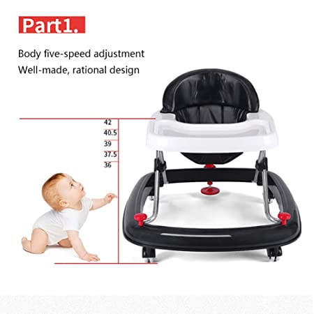 Y- Walkerr Andador De Seguridad para Bebés, Antivuelco Plegable ...