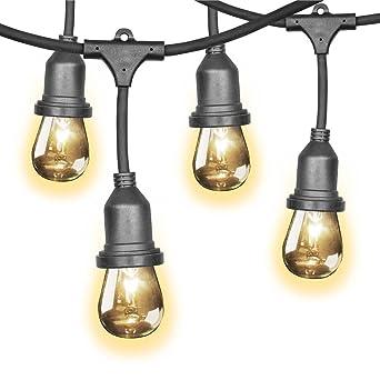 Feit 48ft  14 6m  Indoor Outdoor Weatherproof String Lights Set   36 BulbsFeit 48ft  14 6m  Indoor Outdoor Weatherproof String Lights Set    . Outdoor Led Spotlights Uk. Home Design Ideas