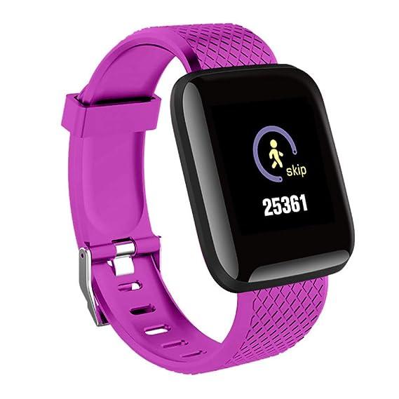 SZPZC Smart Watch Hombres Presión Arterial Impermeable Smartwatch ...
