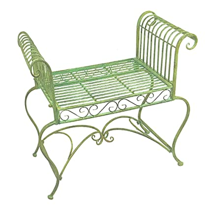 Remarkable Amazon Com Garden Bench Plant Stand Wrought Iron Pdpeps Interior Chair Design Pdpepsorg