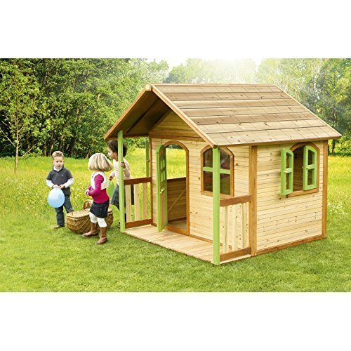 outdoor wooden playhouse - 7