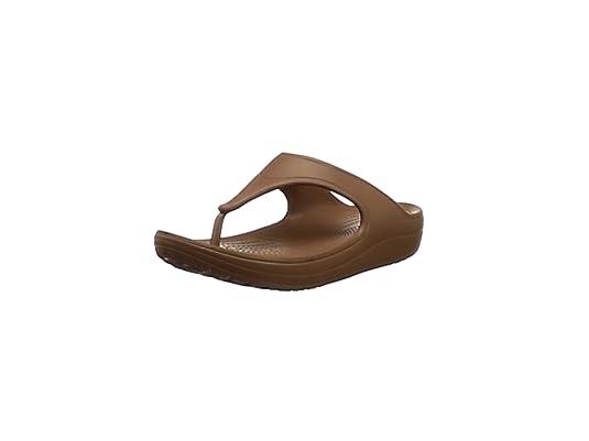 8a84070c96e348 crocs Damen Sloane Platform Flip Flops (36-37 EU) (Schwarz)