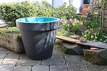 Pflanzkübel Blumenkübel Pflanztopf Blumentopf Ø 48 cm bunte Farben