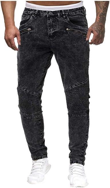 Givekoiu Pantalones Transparentes Tinte De Jeans Para Pantalones De Tela Para Hombre Formal 44 A La Moda Informal Vintage Elastico Vaquero Desestresado Pantalones Ajustados Negro Negro 3xl Amazon Es Ropa Y Accesorios
