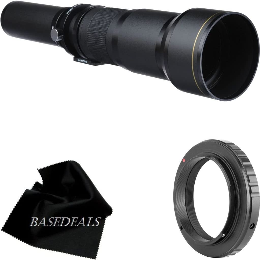 Vivitar 650-1300mm f//8-16 Series 1 Telephoto Zoom Lens for Nikon D40 D90 D3x D300s D3000 /& D5000 Digital SLR Cameras D700 D300 D60 D3 D200 D3s