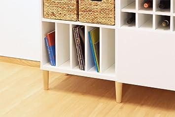 Schallplatten Buch Einsatz Fur Ikea Besta Regal Weiss Amazon De