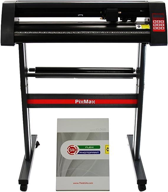 PixMax - Plotter de Corte de Vinilo 72cm y Software FlexiStarter11: Amazon.es: Electrónica