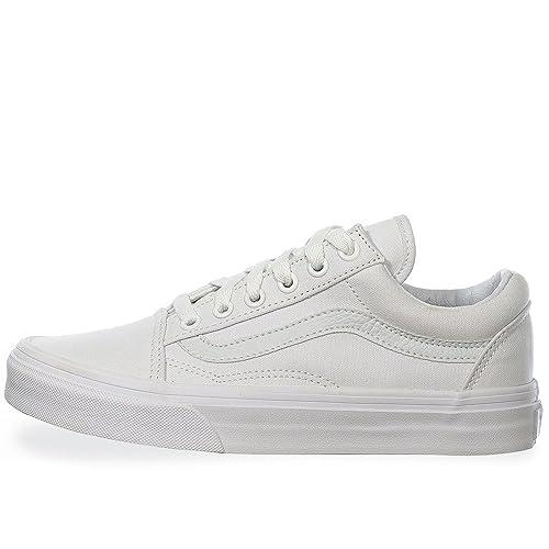 9526d87fea Vans Tenis Old Skool - 0D3HW00 - Blanco - Unisex - Blanco - 23.5 ...