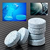 SaiDeng 6 Pcs/Set Car Windshield Glass Washer Cleaner Compact Effervescent Tablets Detergent Glass Cleaning Tablets Glass Water Substitute Auto Windscreen Cleaner