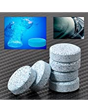 Ocamo 5 Cajas-Limpiador Sólido de Limpiaparabrisas o Limpiacristales del Coche,Pastillas Efervescentes de