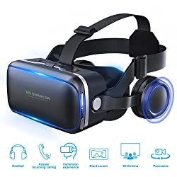 Pansonite 3D VR Headset Virtual Reality Glasses - gifts for 10 year old boys
