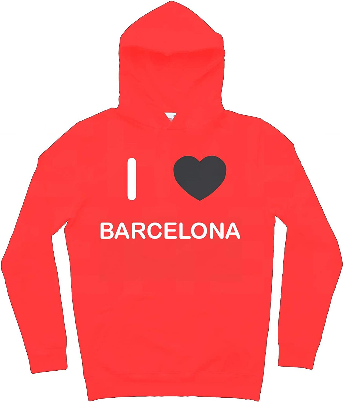 Hoodie I Love Barcelona