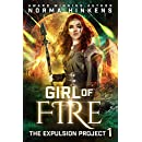 Girl of Fire (The Expulsion Project Book 1)