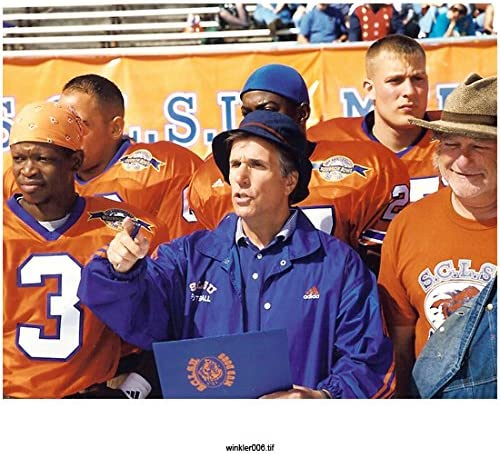The Waterboy Henry Winkler As Coach Klein On Sideline With Players 8 X 10 Inch Photo At Amazon S Entertainment Collectibles Store