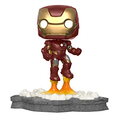 Funko 45610 Pop! Deluxe, Marvel: Avengers Assemble Series - Iron Man, Exclusive, Figure 1 of 6: Toys & Games