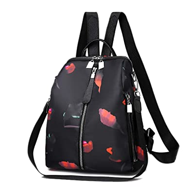 0f2c0ee1336c Alovhad Women Nylon Fashion Convertible Backpack Purse ...
