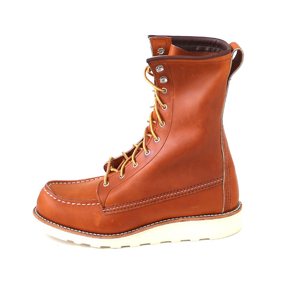 aefcc0f4ace Amazon.com | Red Wing Womens 8 Inch Moc 3427 Leather Boots | Mid-Calf