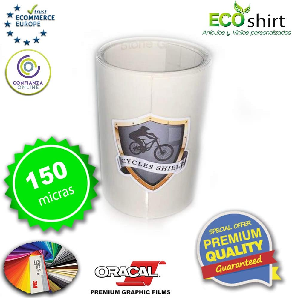 BikeShield Vinilo Protector Ultra Transparente Cycles Shield MTB ...