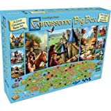 Fantasy Flight Games Carcassonne Big Box 2017 Board Games