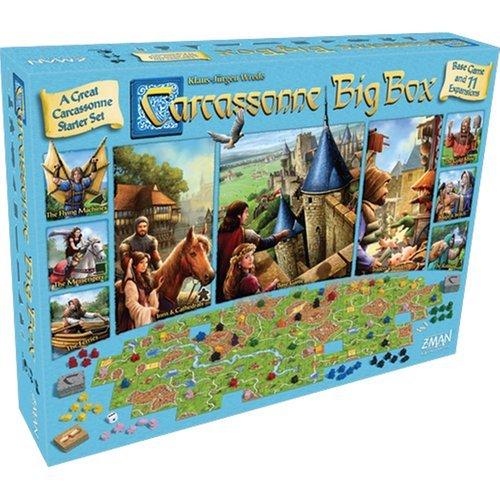 Fantasy Flight Games Carcassonne Big Box 2017 Board Games by Fantasy Flight Games