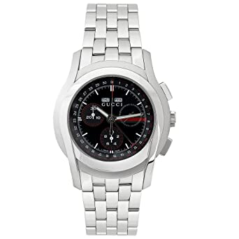 ddabdd4c2f5 Image Unavailable. Image not available for. Color  GUCCI Men s YA055206 XL  5505 Series Chronograph Watch