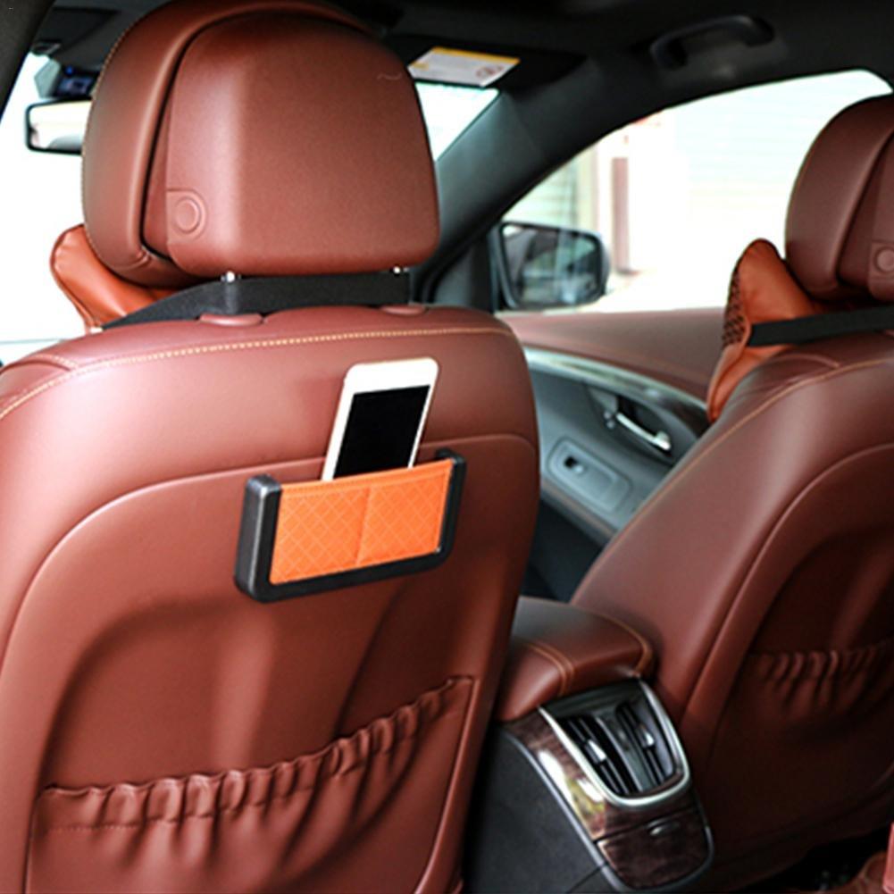 Lizenz Visitenkarten etc schwarz leichter Tasche Aufbewahrungsbox im Auto multifunktionale Aufbewahrungstasche Handytasche Tasche Karte Box Aufbewahrungsbox f/ür Handy