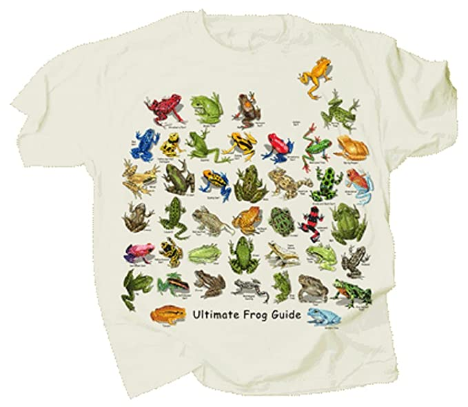 a5ad45223b ... Tom s Bird Feeders Ultimate Frog   Toad Guide Adult T Shirt Natural