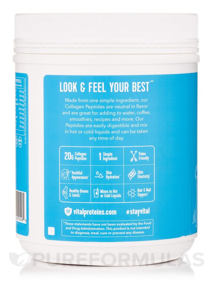 Vital Proteins Collagen Peptides - Pasture Raised, Grass Fed, Paleo Friendly, Gluten Free, Single Ingredient (40)