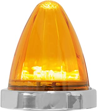 Grand General 81979 Amber//Clear Surface Mount 19 LED Light