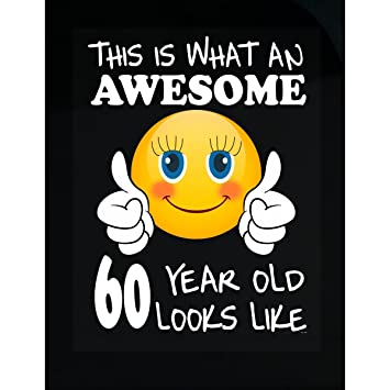 Amazon BADASS REPUBLIC Emoji Birthday 60th Presents